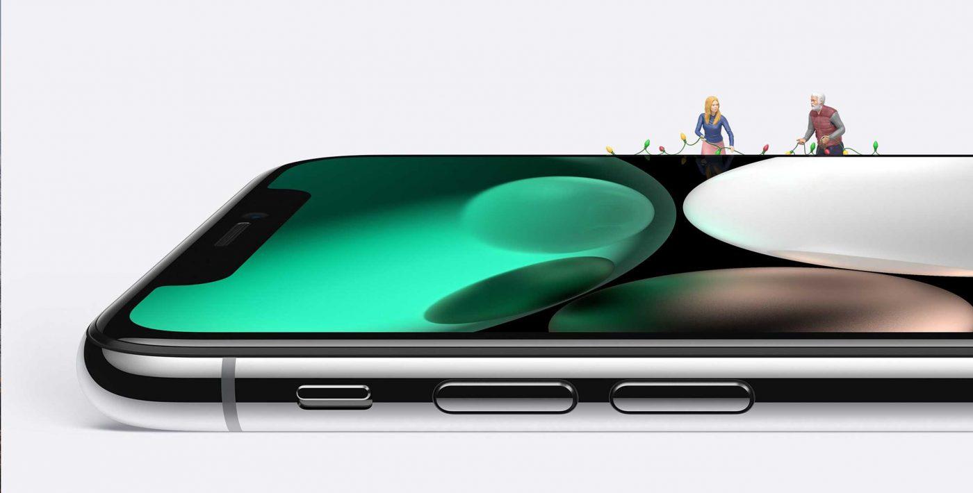 Apple iPhone X Christmas