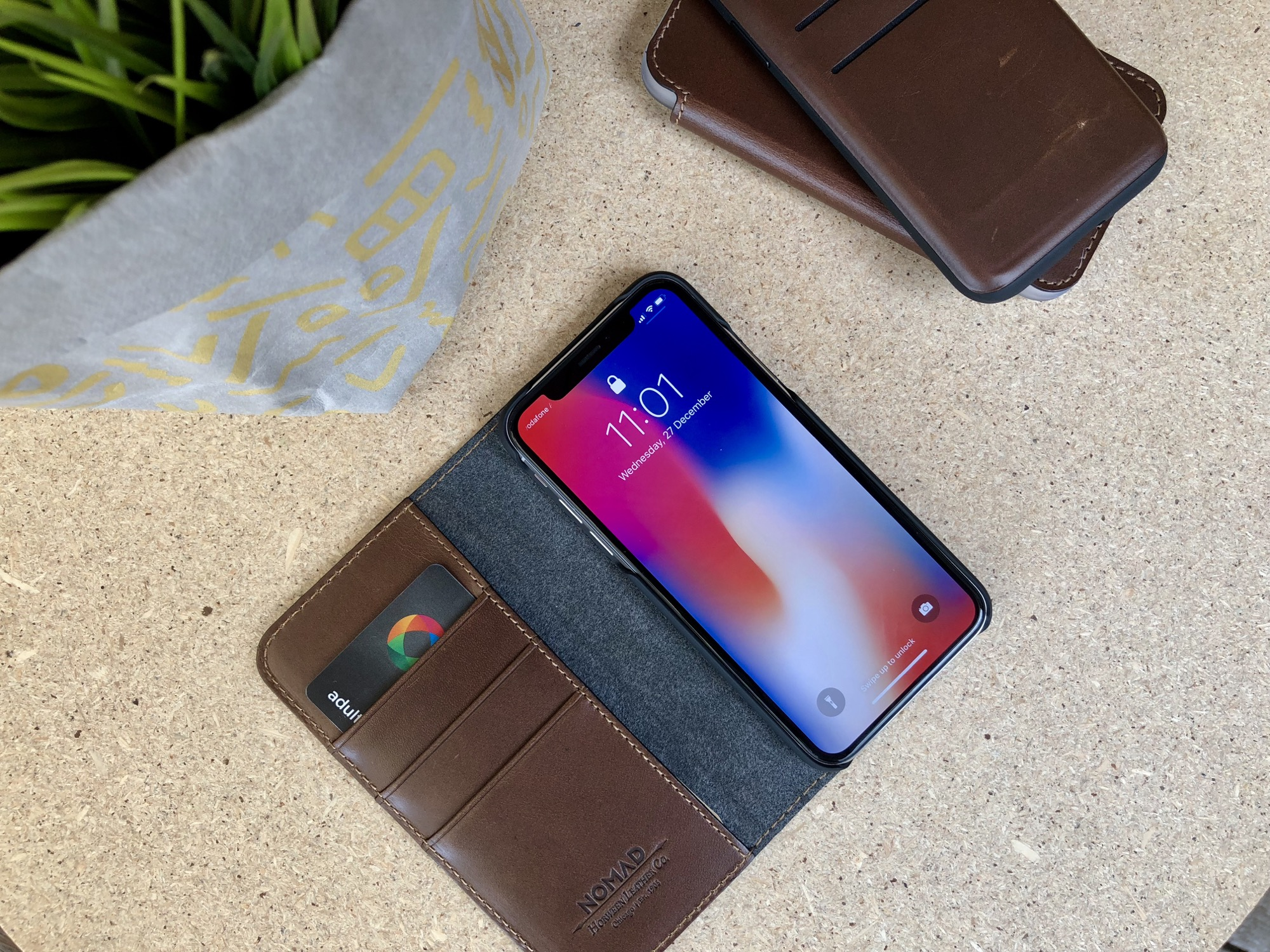 low priced 6bb24 af030 Hands-on With Nomad iPhone X Leather Cases - Mac Prices Australia