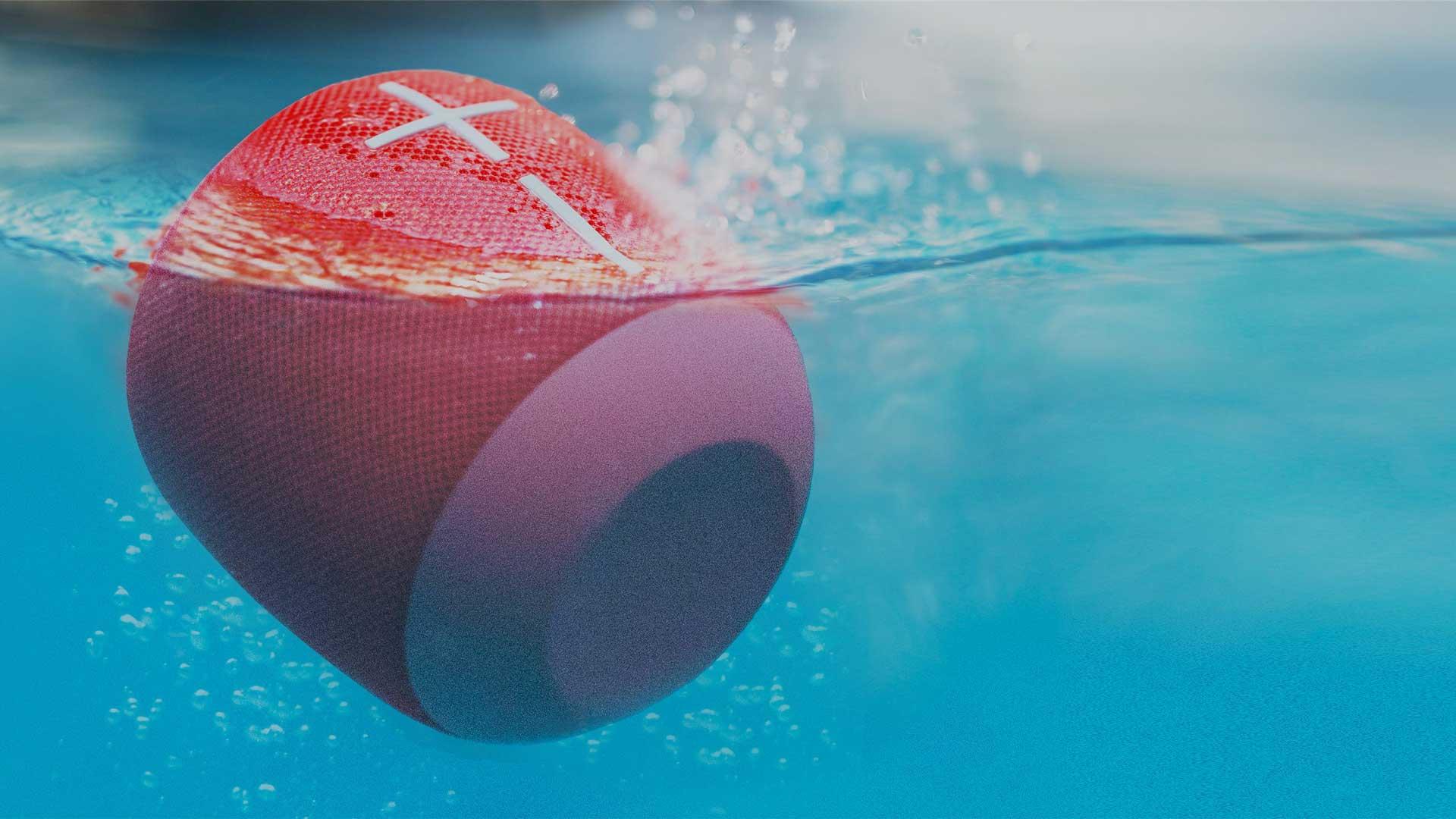 Ultimate Ears UE wonderboom speaker waterproof