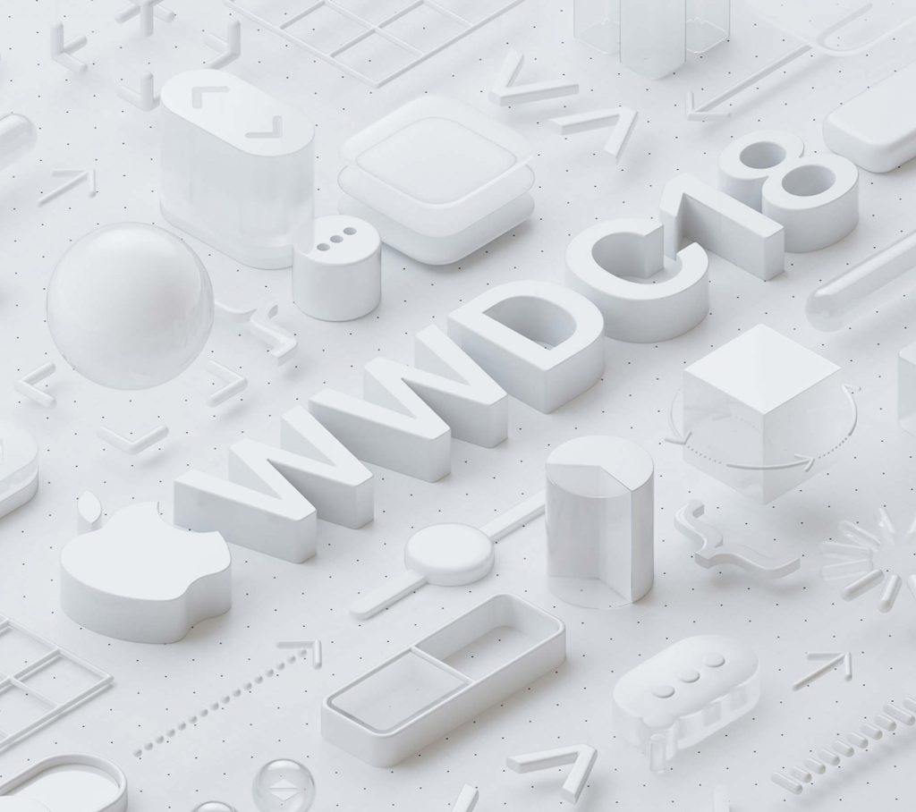 Apple WWDC 2018 poster