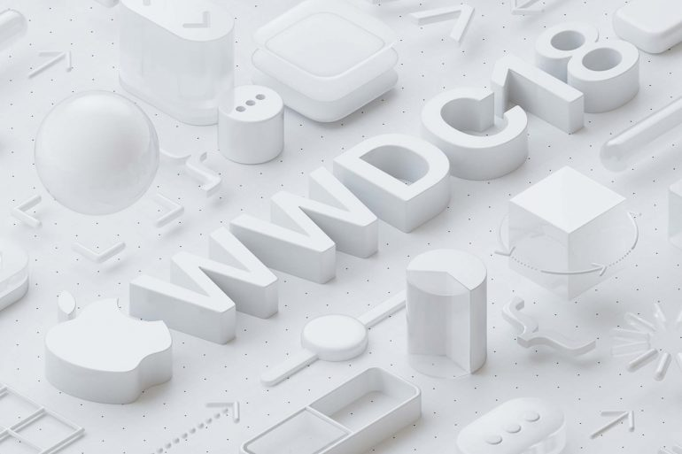 Apple WWDC 2018 poster
