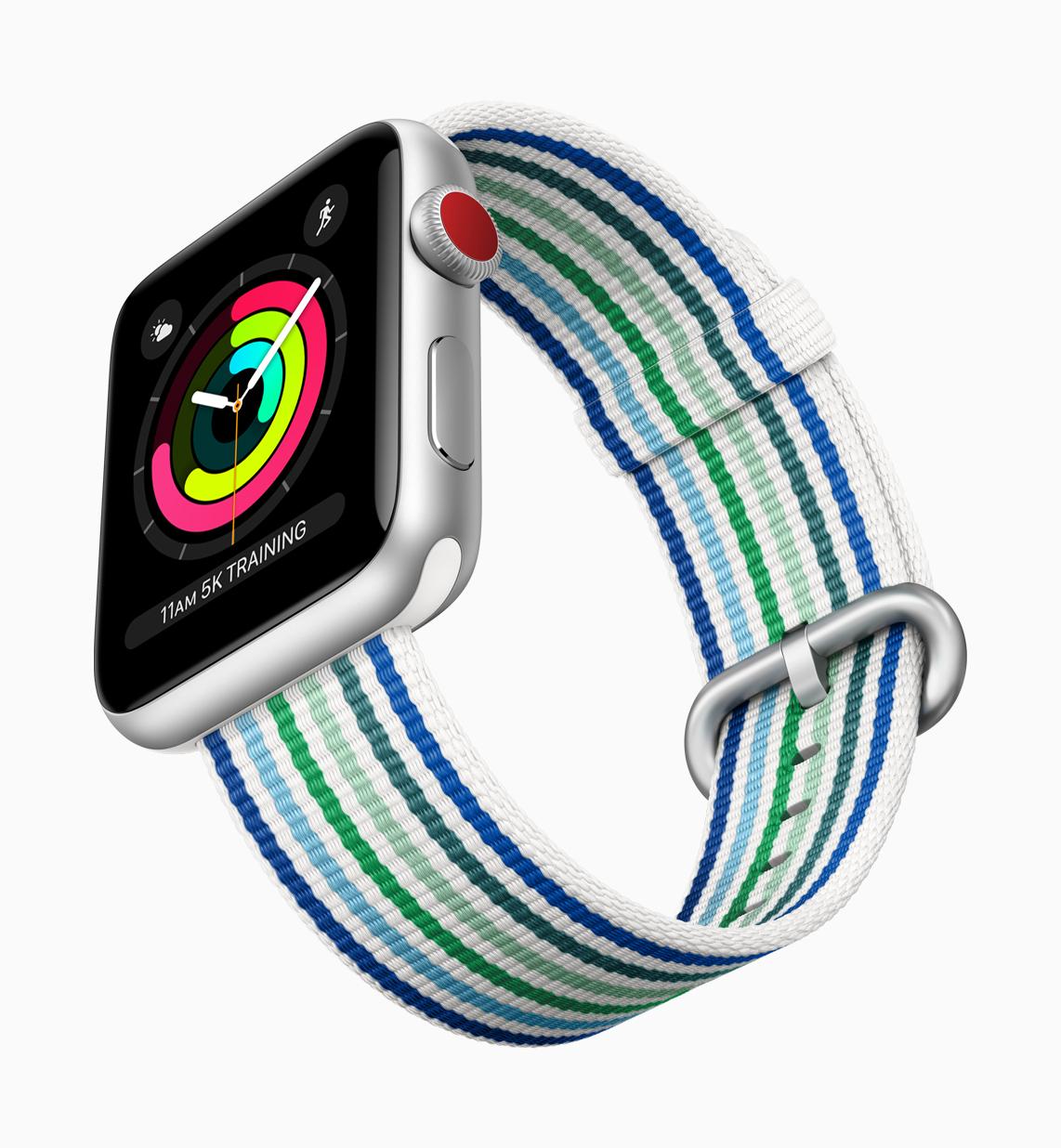 Apple Watch Series 3 Autumn new stirpe woven band