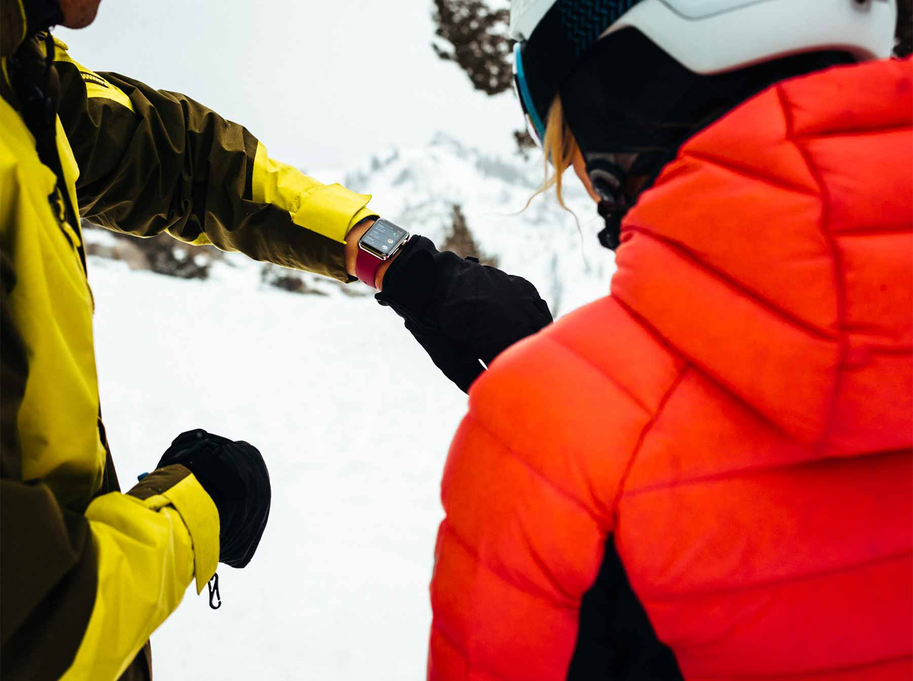 Checking Skiing Activity on Apple Watch Series 3