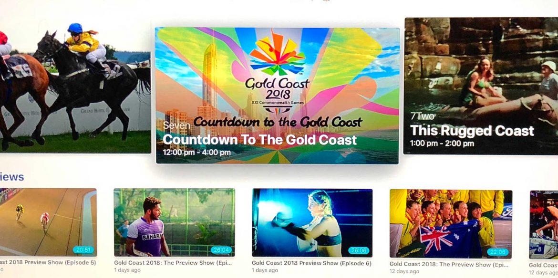 7 Commonwealth Games Gold Coast on Apple TV