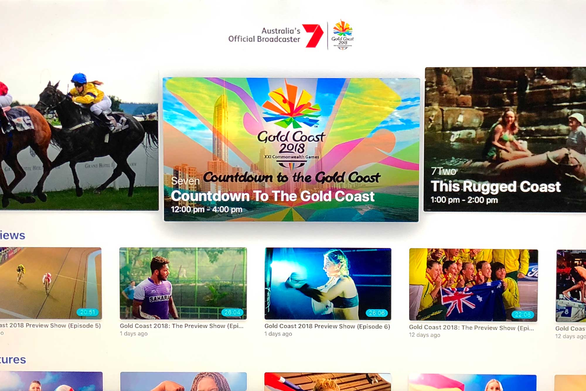 7 Commonwealth Games Gold Coast on Apple TV