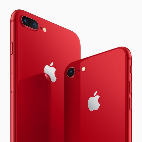 Red iPhone 8 with red iPhone 8 Plus Australia