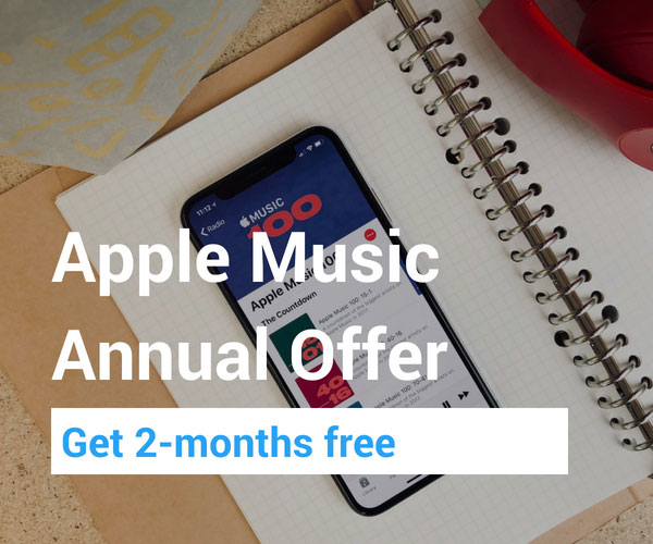 Apple Music Yearly discount