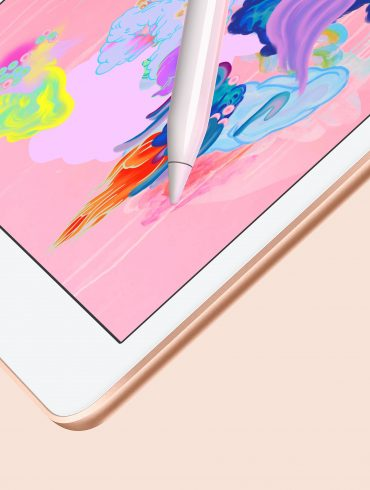 New 2018 iPad with Apple Pencil