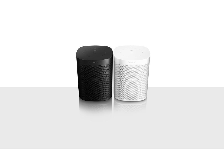 Sonos One Smart Speaker White and Black