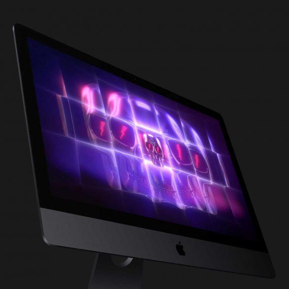 iMac Pro Display with Animation