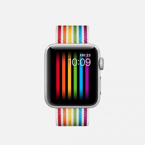 2018 Released Pride Apple Watch Band with Pride Watch Face