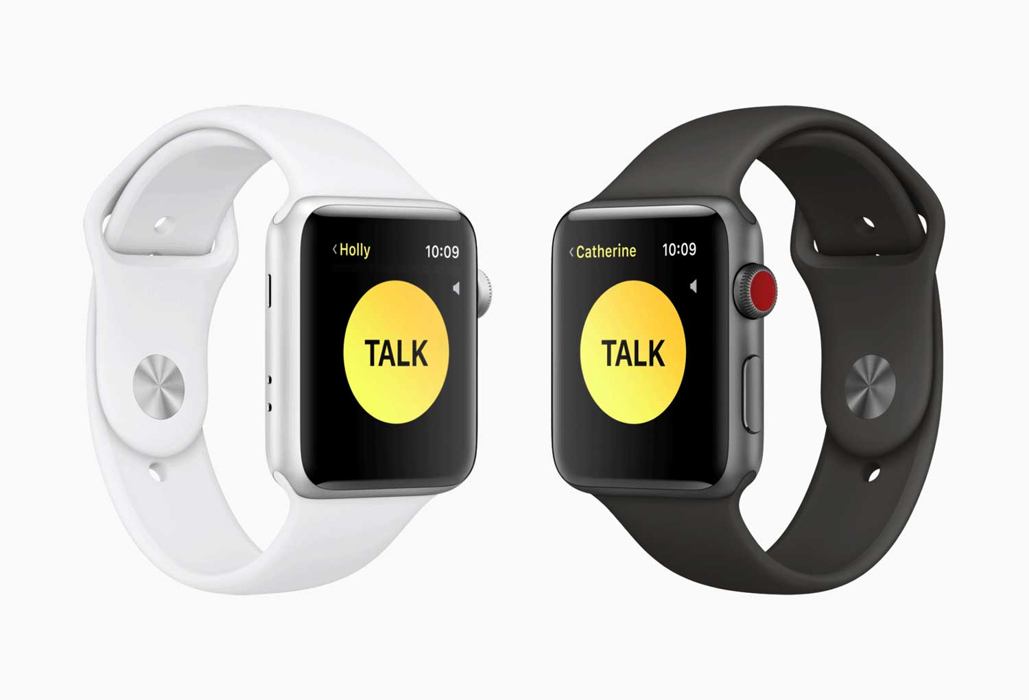 Apple watchOS 5 walkie talkie feature