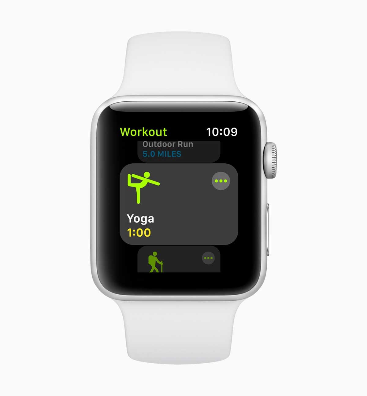 Yoga Apple Watch Tracking with watchos5