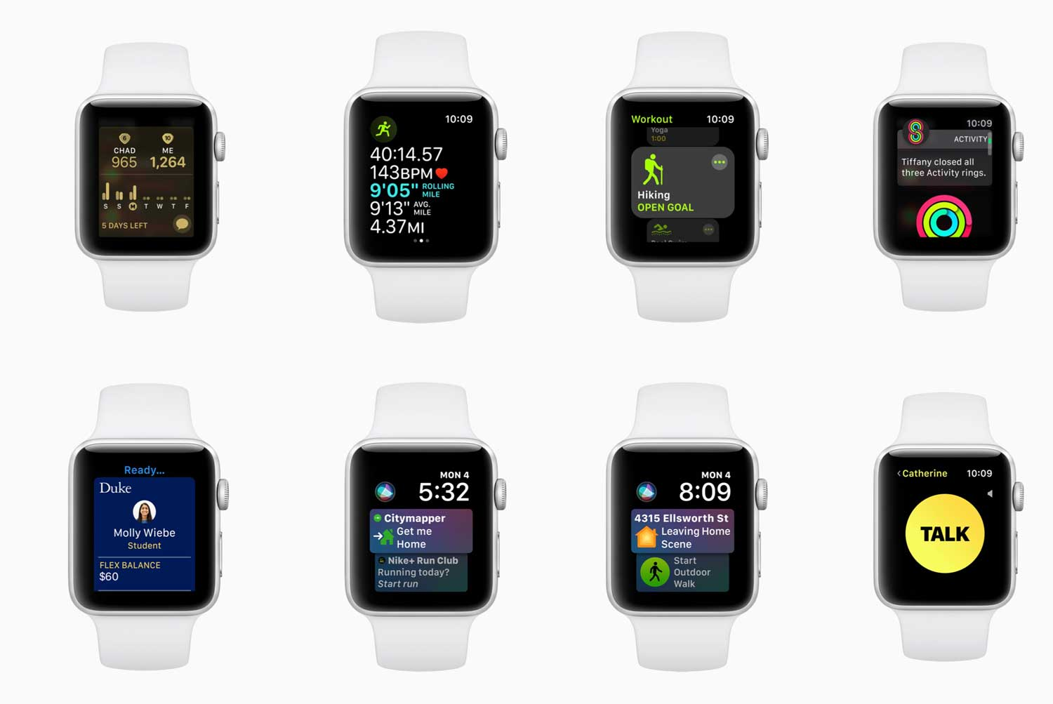 watchOS 5 features for Apple Watch
