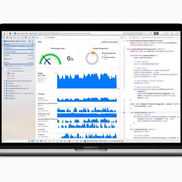 Apple MacBook Pro 2018 Developers Coding