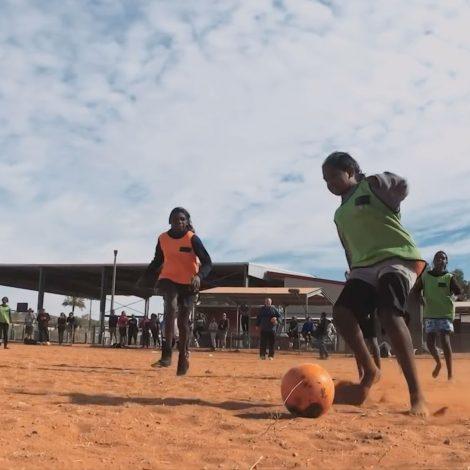 The Heart of Australia Shot on iPhone Aborigional Girls