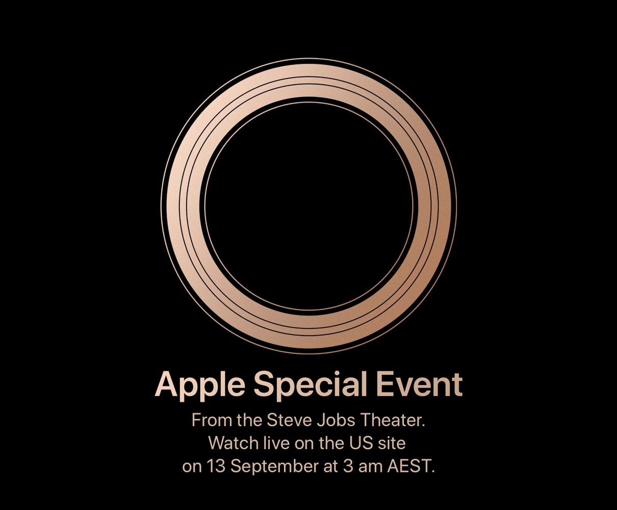 Apple September Event Media Invite