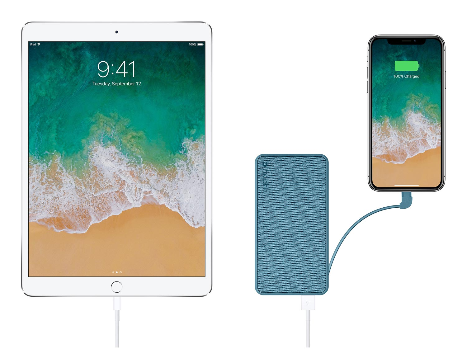 New Mophie Powerstation pack with iPad and iPhone X