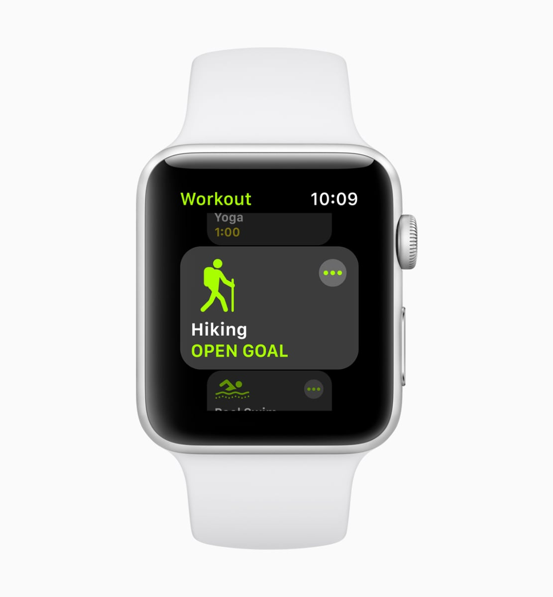 Apple Watch watchOS 5 Hiking Activity Workout