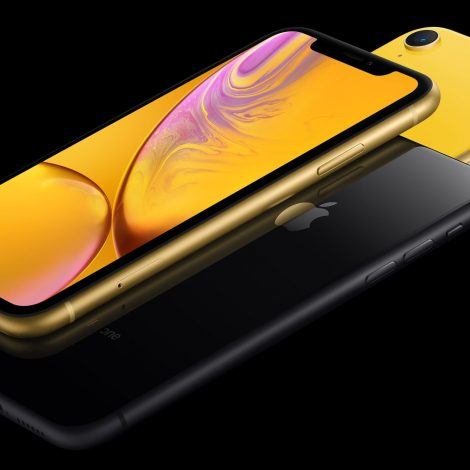 iPhone XR in Yellow and Space Grey Australia