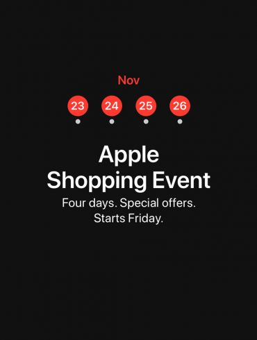 Apple-Four-Day-Shopping-Event-Australia-Black-Friday