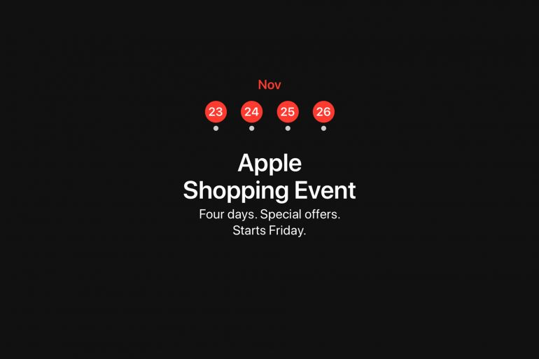 Apple-Four-Day-Shopping-Event-Australia-Black-Friday