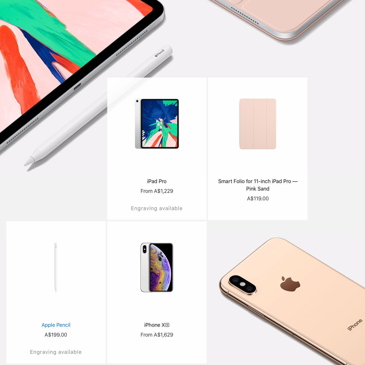 Apple-Gift-Guide-iPad-Pro-iPhone-XS-Apple-Pencil