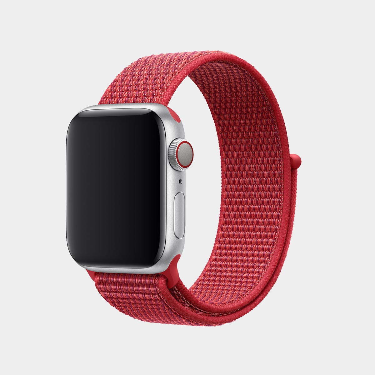 Apple-Watch-Series-4-Cellular-with-product-red-sports-loop-band