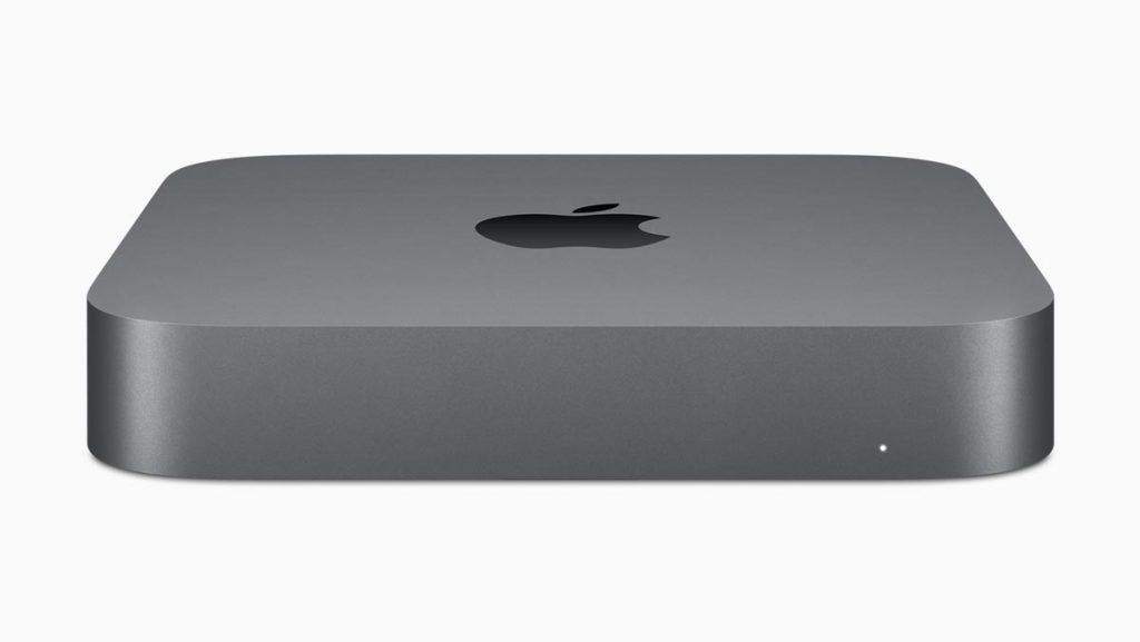 Mac Mini 2018 Model Space Grey Front