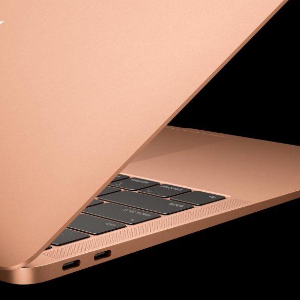 New MacBook Air 2018 In Gold