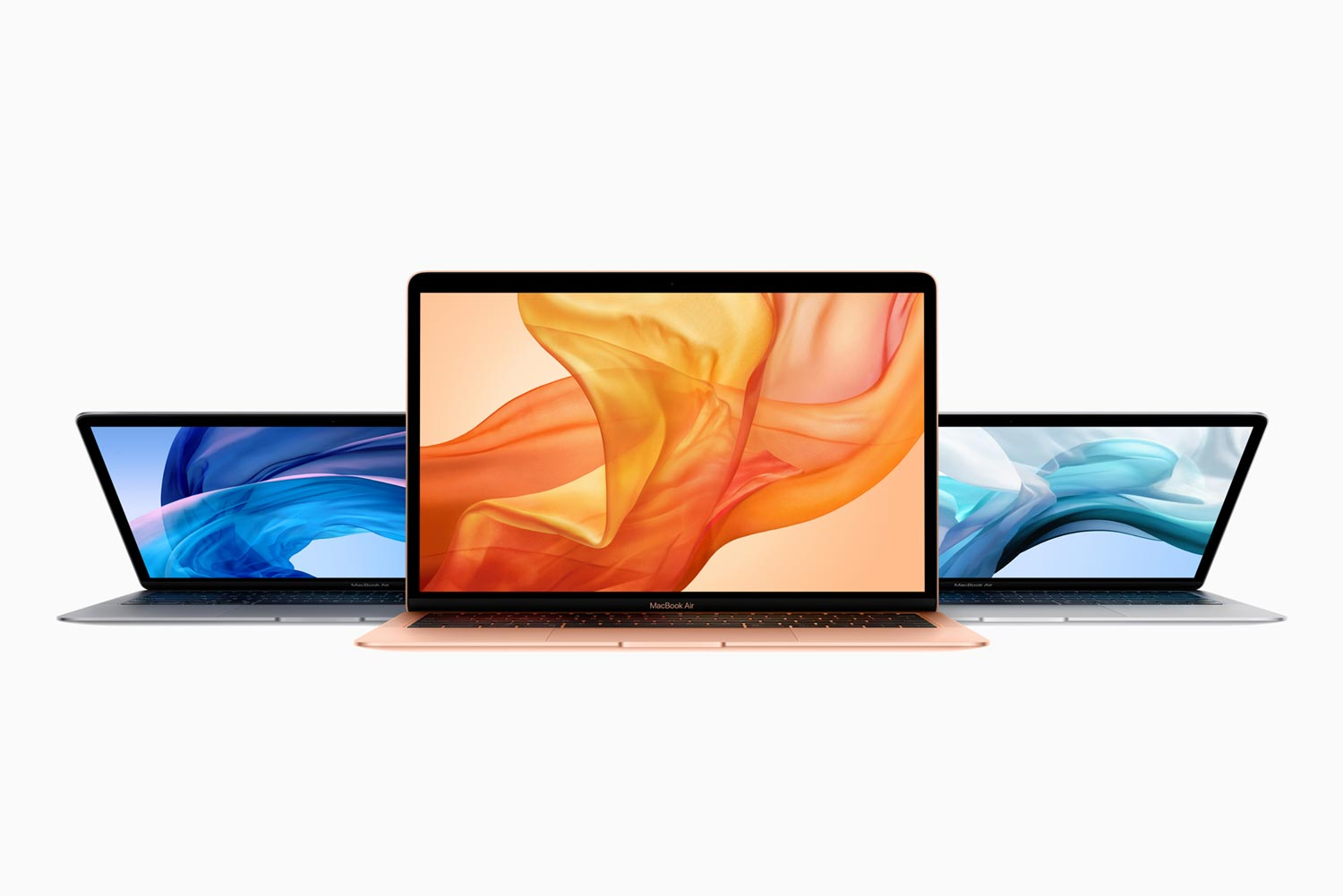 New MacBook Air Colours Silver Gold Space Grey