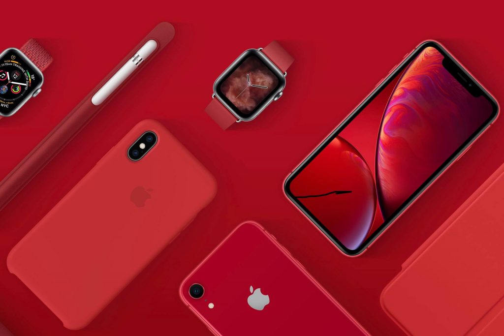 Apple-Product-Red-Apple-Watch-iPhone-XR-iPhone-XS-Max-Case-Apple-Pencil