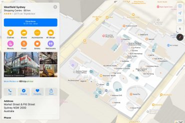 Westfield-Sydney-Apple-Maps-Indoor