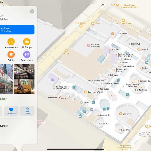 Westfield-Sydney-Apple-Maps-Indoor