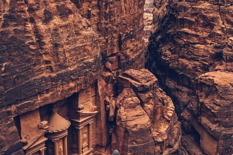 Shot-on-iPhone-Challenge-Announcement-Woman-in-front-of-Petra