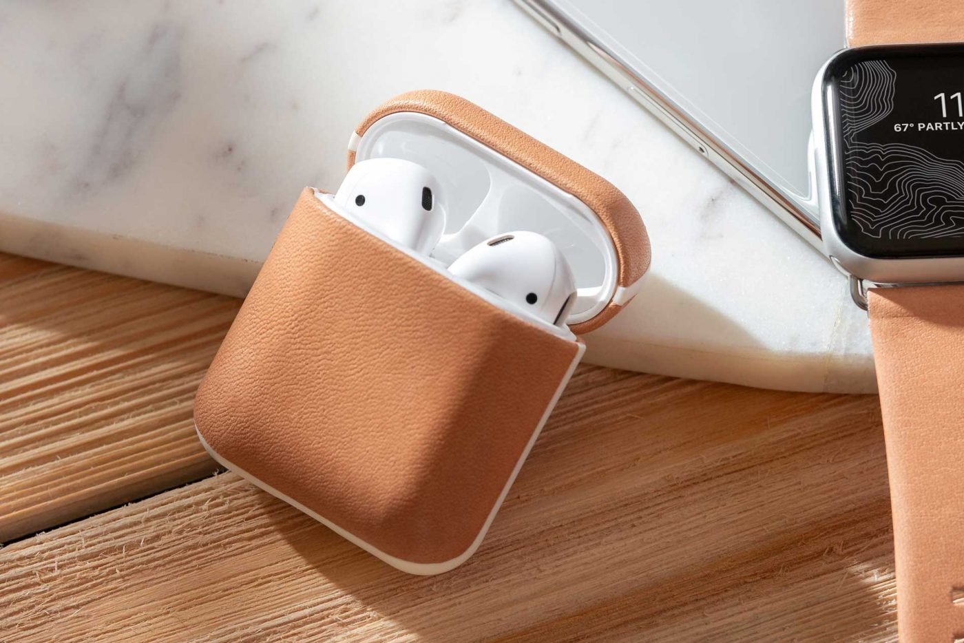 meet 08a86 dc1db Give Your AirPods A Bold New Look with Rugged Case by Nomad - Mac ...