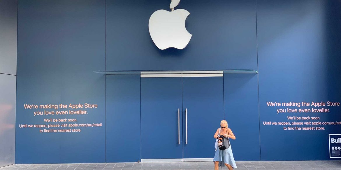 Apple-Store-Bondi-Junction-Closed
