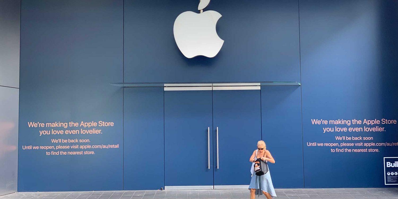 Apple-Store-Bondi-Junction-Closed