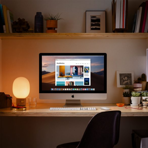 New 2019 iMac on Desk