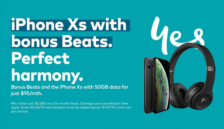Optus-Free-Beats-iPhone-XS-Deal