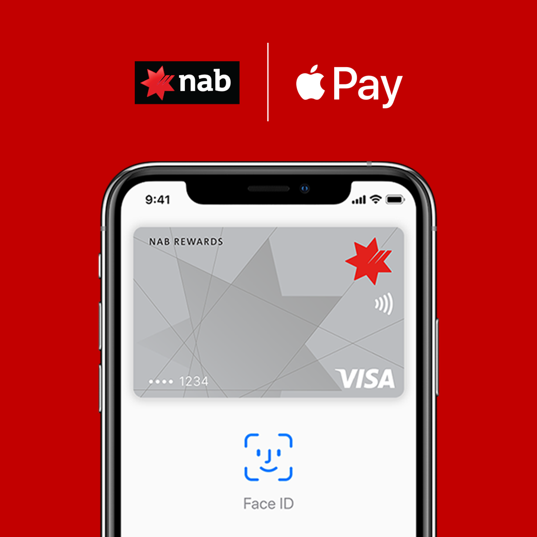 NAB Apple Pay on iPhone