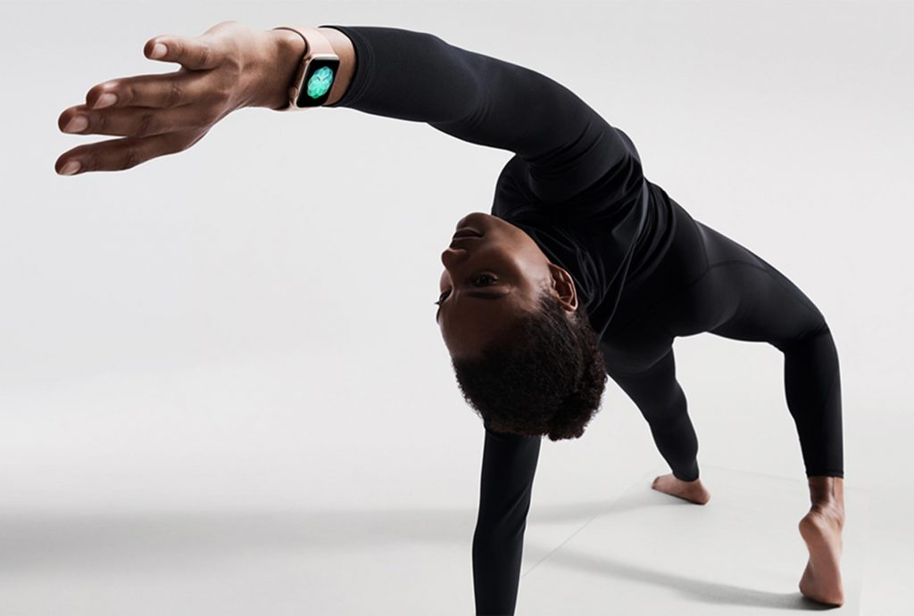 Yoga workout with Apple Watch Series 4