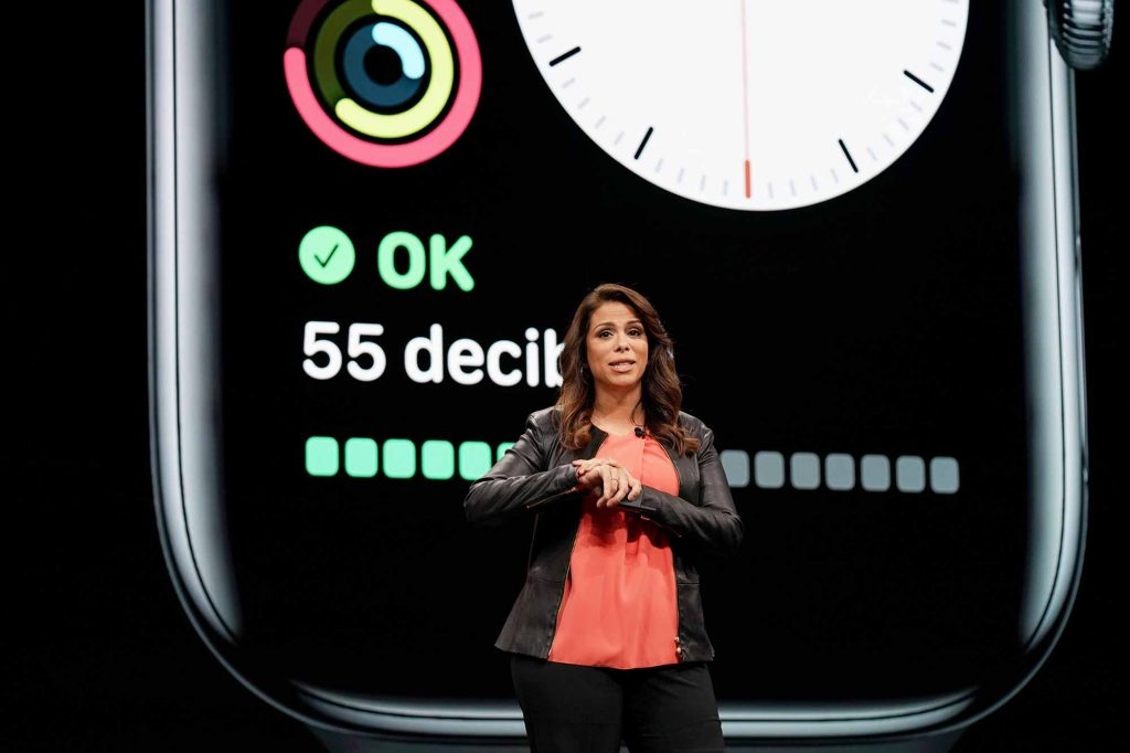watchOS 6 noise app presented at WWDC