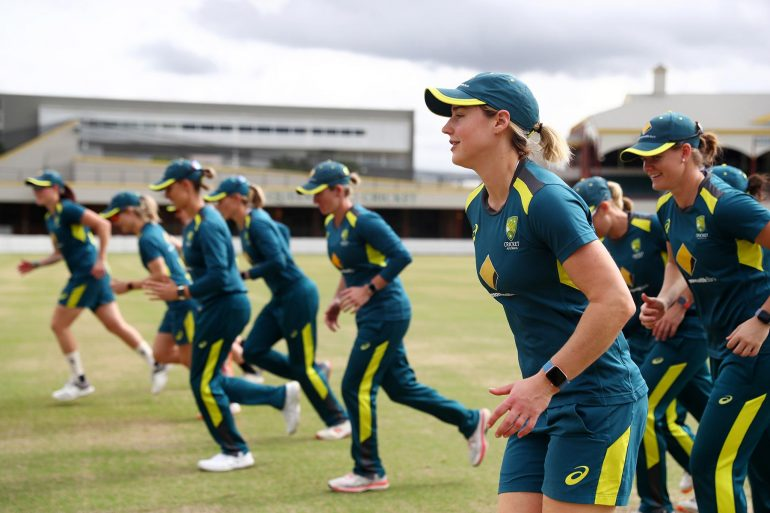 Australia womens cricket team uses Apple Watch