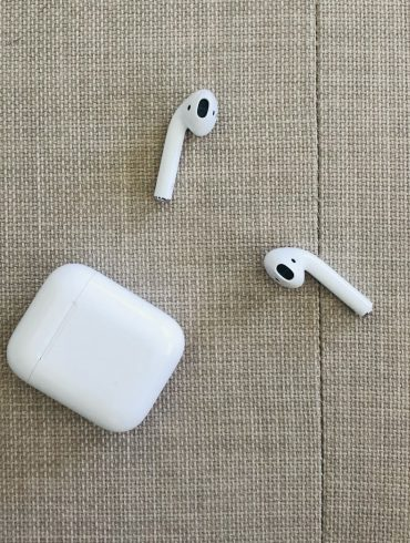 Second generation Airpods outside of charging case