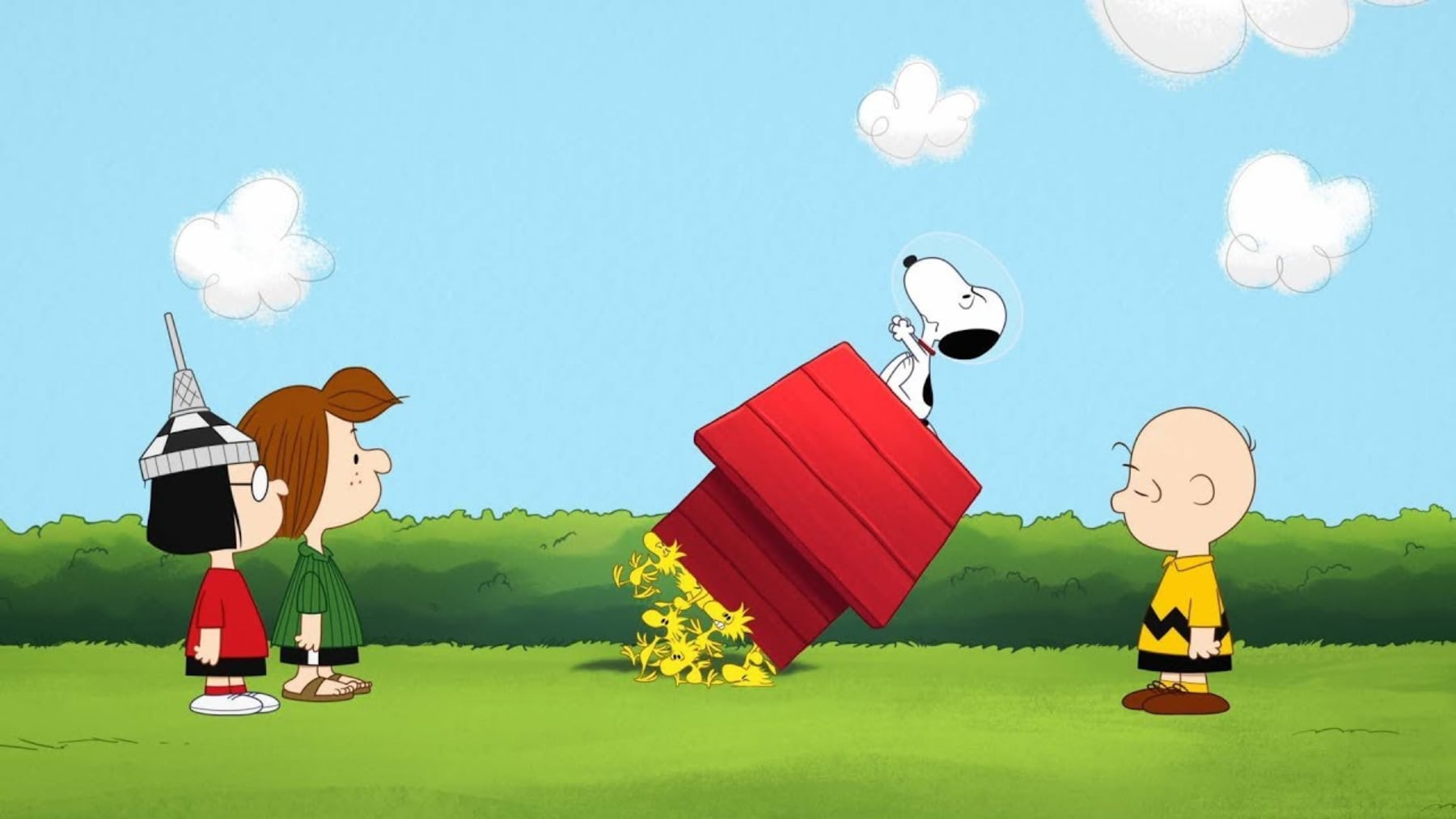 Snoopy In Space Apple TV Plus Series