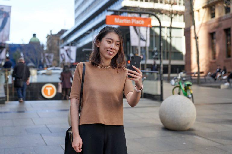 Sydney Uber App Public Transport