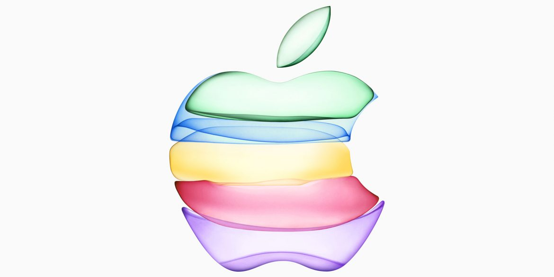 Apple logo september 2019 event