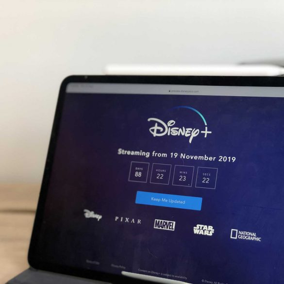 Disney Plus Streaming on iPad Pro