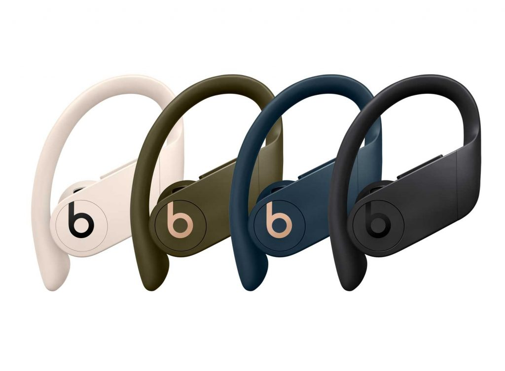 PowerBeats Pro in Ivory, Moss, Navy, and Black